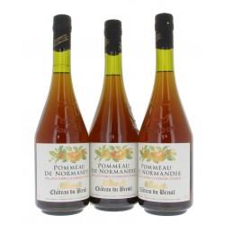 Lot 2 bouteilles pommeau breuil + 1 offerte