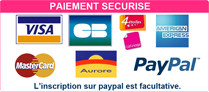 Paiement sécurisé by Paypal