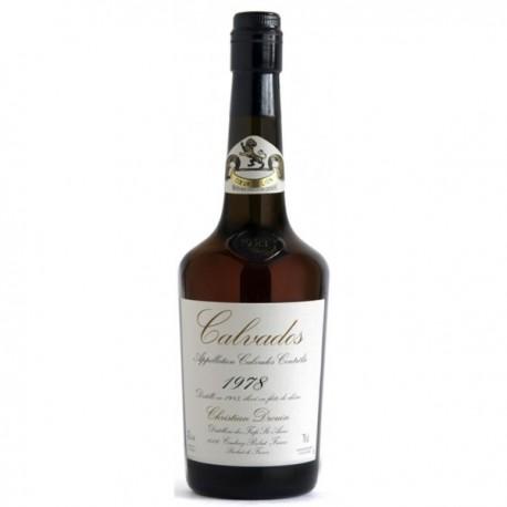 Calvados Millésime 1978 AOC Drouin