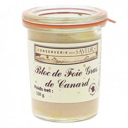 Bloc de foie gras de canard Pitel