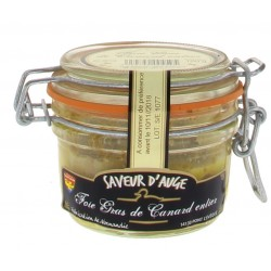 Foie gras de canard entier Saveurs d'Auge 100g