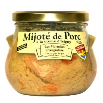 Mijoté de Porc à la Crème d'Isigny La Chaiseronne 750g
