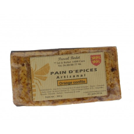 Pain d'Epices Oranges confites