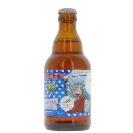 Bière Blonde Crazy IPA de Sutter