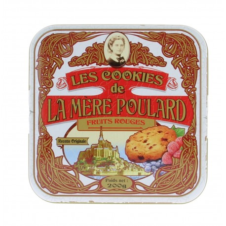 Biscuiterie Mère Poulard - Les cookies fruits rouges