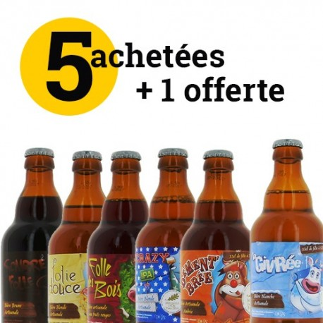 Lot découverte bières De Sutter par 6