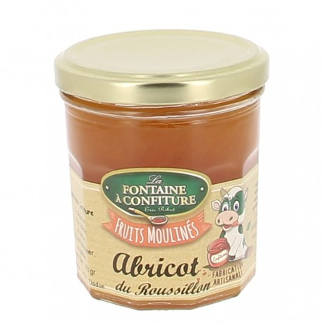 Confiture morceaux abricot du Roussillon Ribot 200 gr