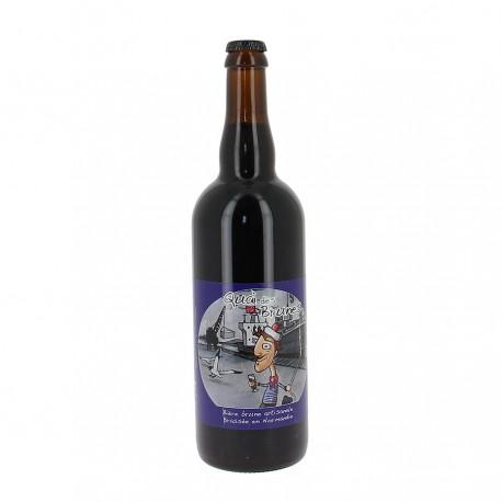 Bière bio Quai des brunes 5.6 % 75 cl