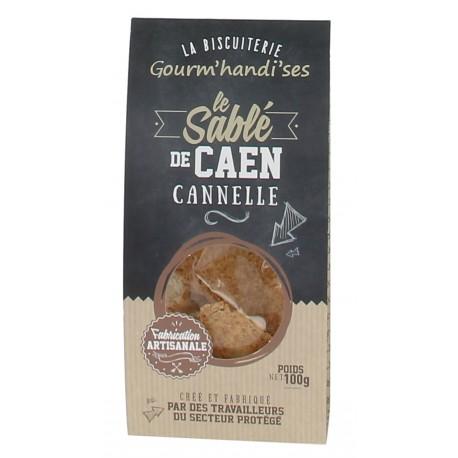 Sablé de Caen cannelle Gourm'handi'ses 100 gr