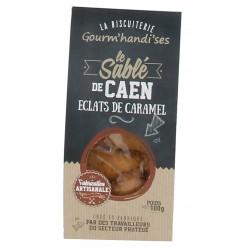Sablé de Caen aux éclats de caramel Gourm'handi'ses 100 gr