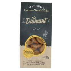 Le diamant gourm'handi'ses 100 gr