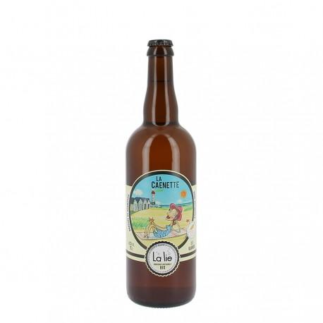 Bière bio la caenette 4.5 % 75 cl
