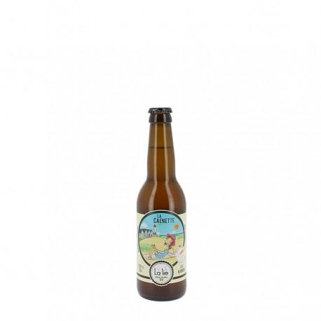 Bière bio la caenette 4.5 % 33 cl