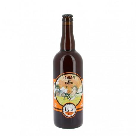 Bière bio L'ambrée du hameau 6% 75 cl