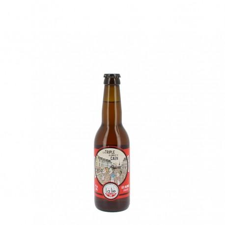 Bière bio la triple à la mode de Caen 9 % 33 cl