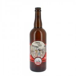 Bière bio la triple à la mode de Caen 9 % 75 cl