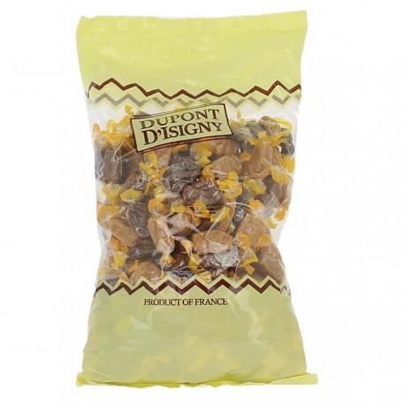 Sachet 2kg Caramels Tendres assortiment Dupont d'Isigny