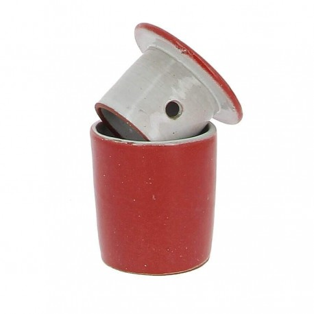 Beurrier à eau conservateur rouge 105g