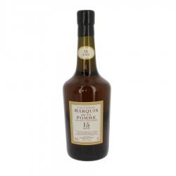 Calvados le Marquis de la Pomme 15 ans Coquerel 70 cl 42 %
