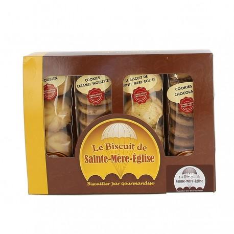 Boite assortiment biscuits ste mère l'église