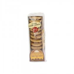 Sachet cookies caramel noisette biscuiterie Sainte-Mère-Eglise 130 gr