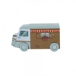 Boite biscuits camion camping car 170 gr
