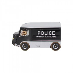 Boite biscuits camion Police 170 gr