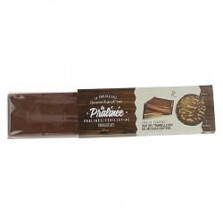Tablette pralinée chocolat au lait Gourm'handi'ses 100g