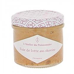 Rillettes de foie de lotte au chorizo 90g Atelier du Poissonnier