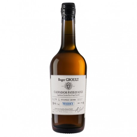 Calvados Whisky cask finish 12 ans Groult 46% 70cl