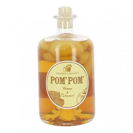 Arrangé ô Calvados Pom'Pom' pomme caramel 70cl 28%