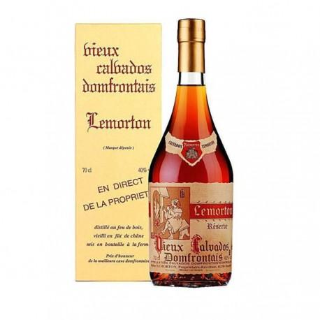 Calvados réserve 5 ans Lemorton 70cl 40%
