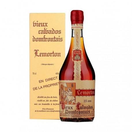 Calvados réserve 25 ans Lemorton 70cl 40%