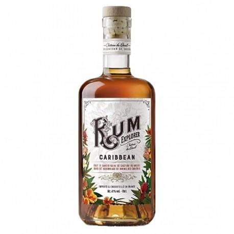 "Rhum ""Caribbean"" Rum Explorer - Breuil 41% 70cl"