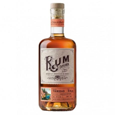 """Rhum """"Trinidad"""" Rum Explorer - Breuil 41% 70cl"""
