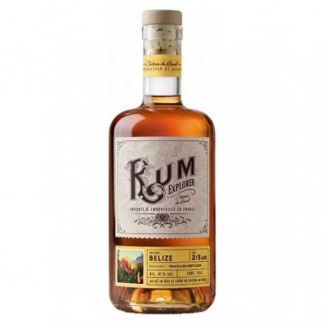 "Rhum ""Belize"" Rum Explorer - Breuil 41% 70cl"