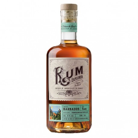 "Rhum ""Barbados"" Rum Explorer - Breuil 41% 70cl"