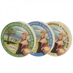 Caramels d'Isigny lot découverte 3x150g
