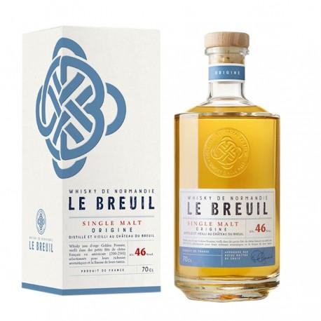 Whisky l'origine - Breuil 46% 70cl