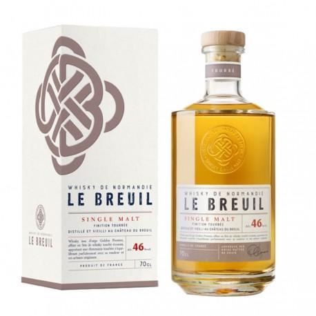 Whisky finition tourbée - Breuil 46% 70cl