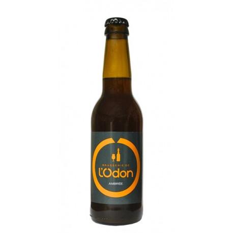 L'Odon bière ambrée 6.2%