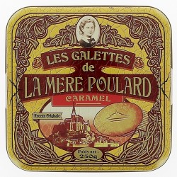 Les galettes caramel Mère Poulard 250g