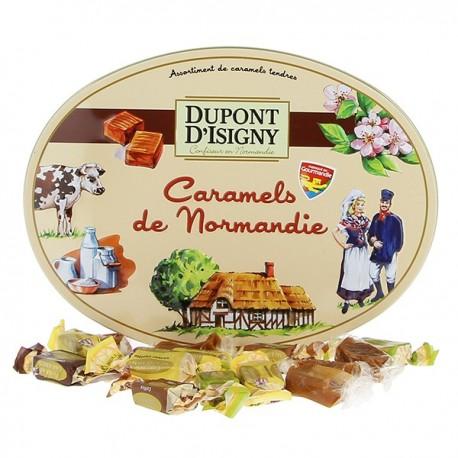Assortiment de caramels tendres 240g Dupont D'Isigny