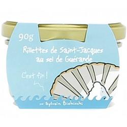 Rillettes de St-Jacques au sel de Guérande 90g Heula