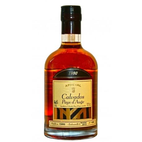 Calvados millésime 1980 Apreval 70cl 42%