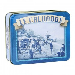 Boite Calvados caramels d'Isigny assortiment Normandie 150g