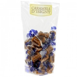 Sachet caramels d'Isigny au beurre salé 250g
