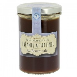 Caramel à tartiner d'Isigny au beurre salé 250g
