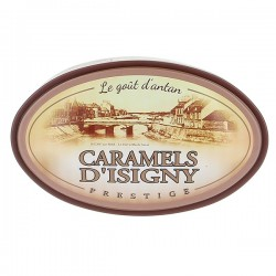 Boite prestige caramels d'Isigny Assortiment 250g