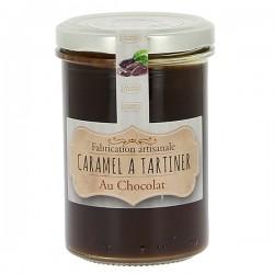 Caramel à tartiner d'Isigny chocolat 250g